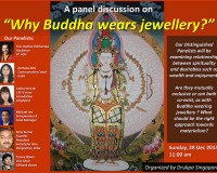 Why Buddha wears Jewellery?